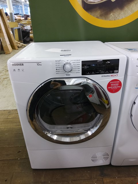 Lot 7019 HOOVER DYNAMIC NEXT DX10TCE 10KG LOAD AQUAVISION CONDENSER TUMBLE DRYER