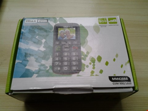 Lot 1003 BOXED MAX CON DUAL BAND MOBILE PHONE