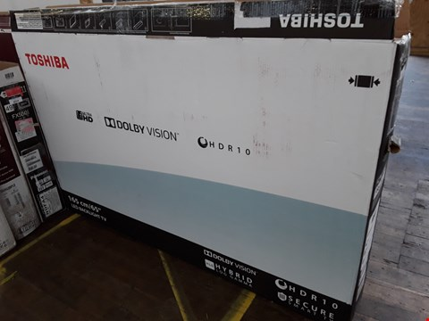 "Lot 1015 TOSHIBA 65"" LED BACKLIT LED TELEVISION MODEL 65U5863DB"