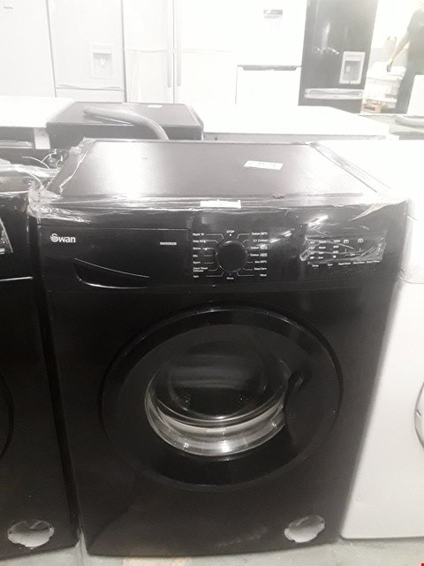 Lot 51 SWAN SW2062B BLACK 8KG 1200 SPIN WASHING MACHINE RRP £439