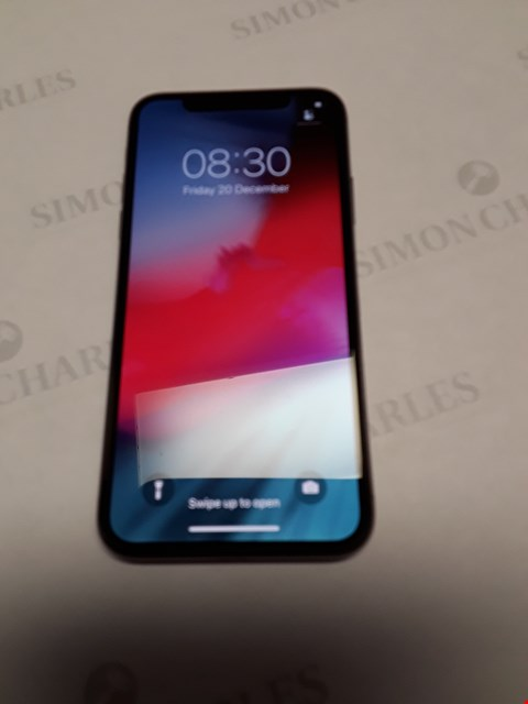 Lot 76 APPLE IPHONE X 64GB- UNLOCKED