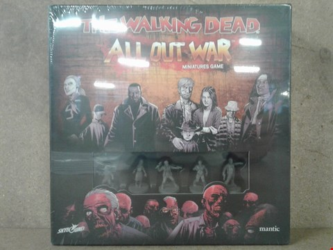 Lot 511 BRAND NEW BOXED THE WALKING DEAD ALL OUT WAR MINATURES GAME