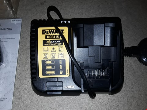 Lot 8053 DEWALT DCB115 XR LI-ION BATTERY CHARGER