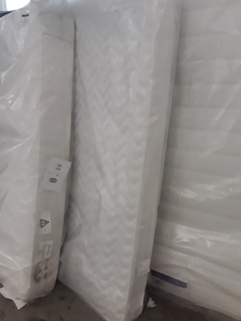 Lot 46 DESIGNER BAGGED 135CM AIRSPRUNG MICRO QUILT MATTRESS