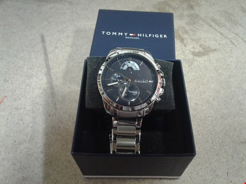 Lot 9035 TOMMY HILFIGER DECKER BLUE MULTI DIAL MENS WATCH RRP £200.00