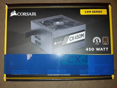 Lot 413 CORSAIR CX450M ATX POWER SUPPLY