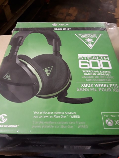 Lot 3005 TURTLE BEACH STEALTH 600 XBOX VERSION HEADSET RRP £119.99