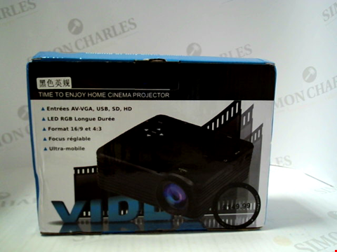 Lot 3039 BOXED LED HOME CINEMA PROJECTOR