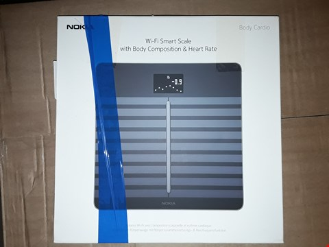 Lot 8070 BOXED NOKIA WIFI SMART SCALE WITH BODY COMPOSITION & HEART RATE