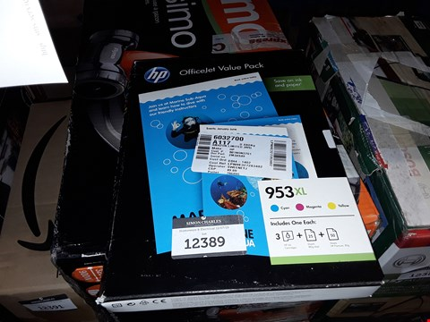 Lot 12389 HP 953XL OFFICEJET VALUE PACK (1CC21AE)