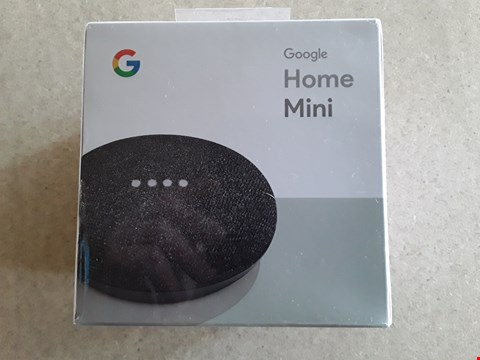 Lot 52 BOXED GOOGLE HOME MINI