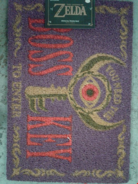 Lot 775 BRAND NEW ZELDA DOOR MAT