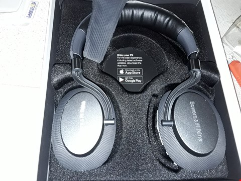 Lot 4085 BOWERS & WILKINS PX WIRELESS HEADPHONES, NOISE CANCELLING - SPACE GREY