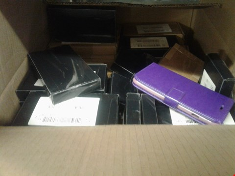 Lot 368 A BOX OF APPROXIMATELY 50 ASSORTED MOBILE PHONE COVERS
