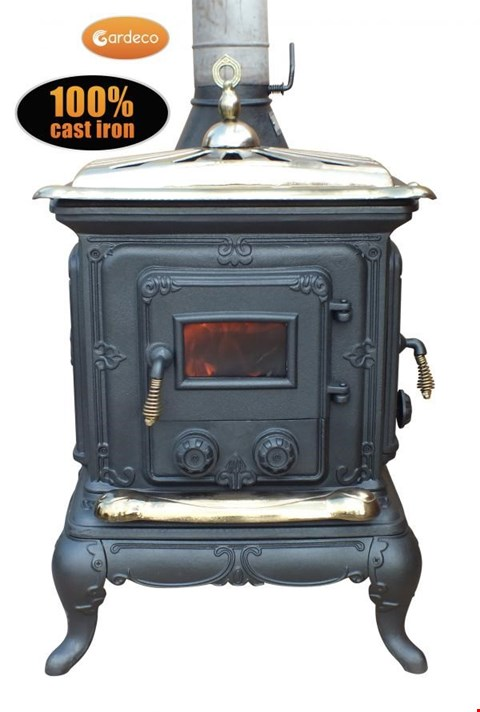 Lot 41 BOXED BRAND NEW AMBLECOTE CAST IRON MULTI-FUEL STOVE RRP £399.99