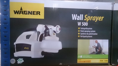 Lot 500 BOXED WAGNER WALL SPRAYER W500