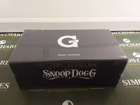 Lot 1023 SNOOP DOGG G PEN HERBAL VAPORISER