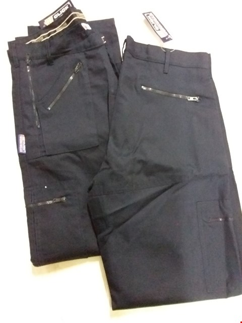 Lot 497 A LOT OF APPROXIMATELY 2 WORK TROUSERS