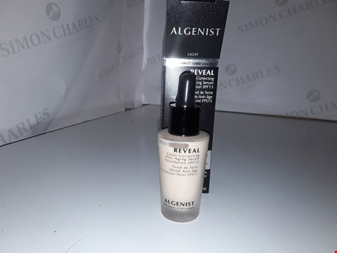 Lot 845 ALGENIST REVEAL COLOR CORRECTING ANTI-AGING SERUM FOUNDATION 30ML