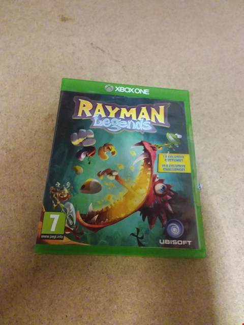 Lot 8242 RAYMAN LEGENDS XBOX ONE GAME