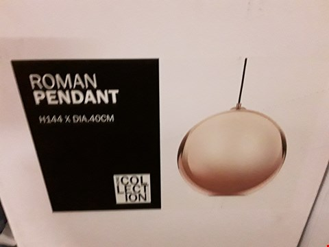 Lot 397 BOXED HOME COLLECTION ROMAN PENDANT