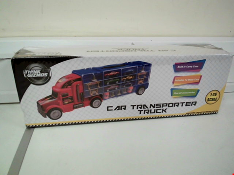 Lot 8103 THINK GIZMOS CAR TRANSPORTER TRUCK