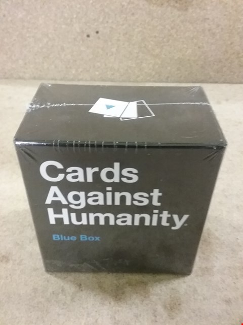 Lot 384 BRAND NEW CARDS AGAINST HUMANITY BLUE BOX