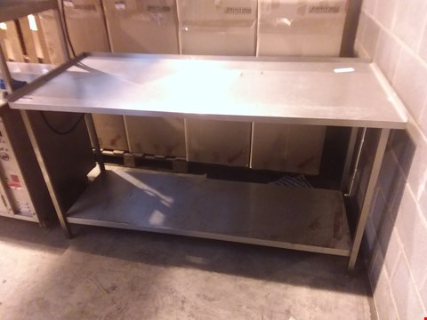 Lot 4031 STAINLESS STEEL FOOD PREPARATION UNIT