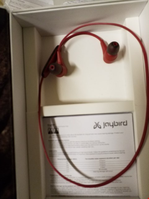 Lot 16 JAYBIRD RED WIRELESS HEADPHONES