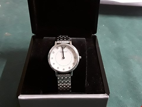 Lot 1563 EMPORIO ARMANI STAINLESS STEEL LADIES WATCH RRP £329