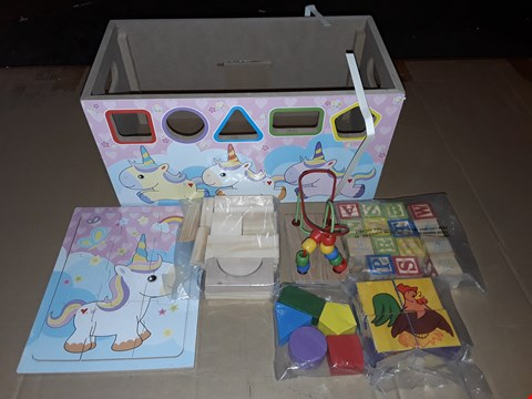 Lot 146 LOT OF 2 BOXED 7IN1 UNICORN ACTIVITY TRUNKS