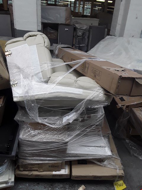 Lot 308 PALLET OF ASSORTED FLAT PACK FURNITURE PARTS