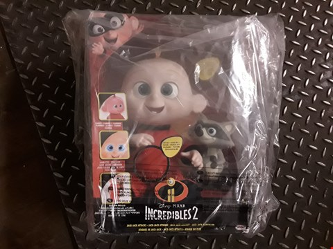 Lot 2313 BOXED GRADE 1 INCREDIBLES 12 INCH FEATURE BABY JACK JACK ATTACKS RRP £50