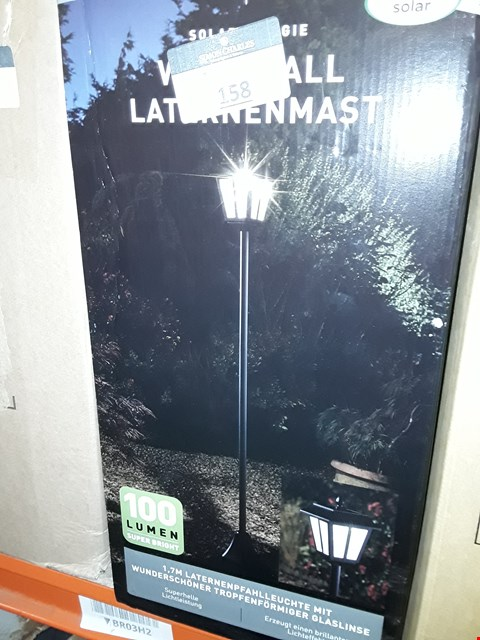 Lot 158 BOXED WHITEHALL HIGH LUMEN LAMP POST RRP £49.99