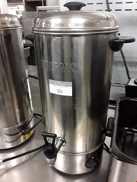 Lot 50 BUFFALO 10L ELECTRIC WATER BOILER