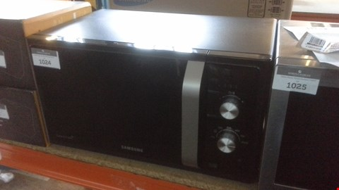 Lot 1024 SAMSUNG MS23F301 23 LTR SOLO MICROWAVE BLACK RRP £119.99