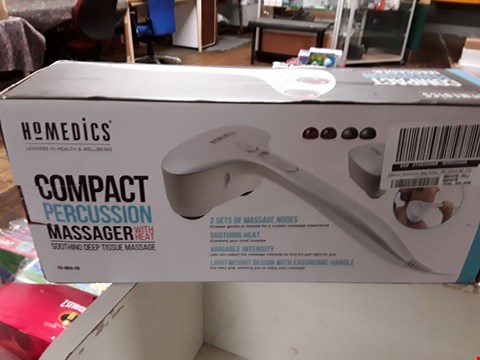 Lot 2676 GRADE 1 HOMEDICS PERCUSSION DEEP TISSUE MASSAGER   RRP £65