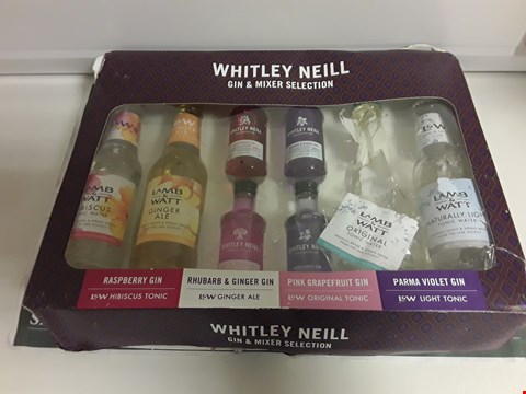 Lot 1372 WHITLEY NEIL GIN & MIXER SELECTION