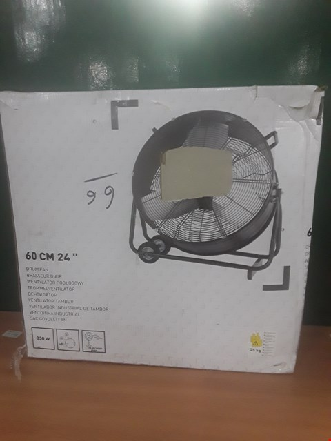 Lot 95 BOXED 60CM DRUM FAN  RRP £130