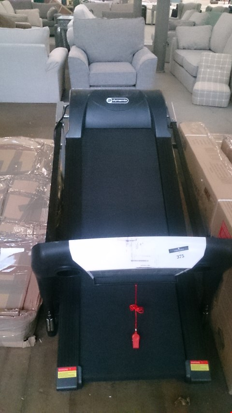 Lot 70 DYNAMIX MOTORISED TREADMILL WITH INCLINE.  RRP £524.00