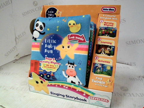 Lot 10180 LITTLE BABY BUM SINGING STORYBOOK RRP £29.00