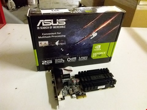 Lot 393 ASUS NVIDIA GEFORCE GT 710