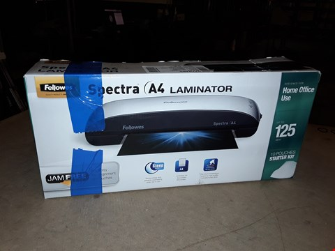 Lot 9058 FELLOWES SPECTRA A4 LAMINATOR