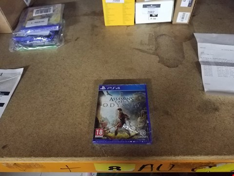 Lot 7091 ASSASSIN'S CREED ODYSSEY FOR PLAYSTATION 4  RRP £59.99