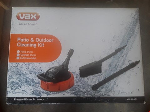 Lot 1223 VAX PATIO AND OUTDOOR CLEANING KIT