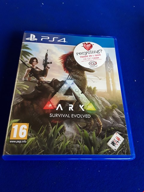 Lot 7638 ARK PLAYSTATION 4 GAME