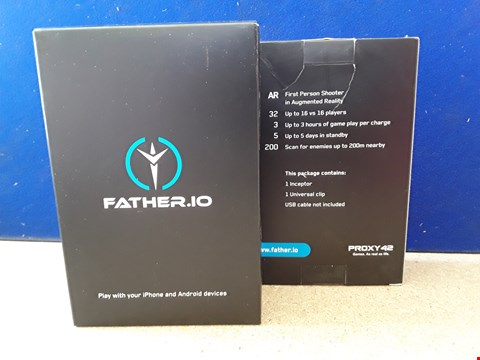 Lot 5067 TWO BOXED FATHER.IO GAMES