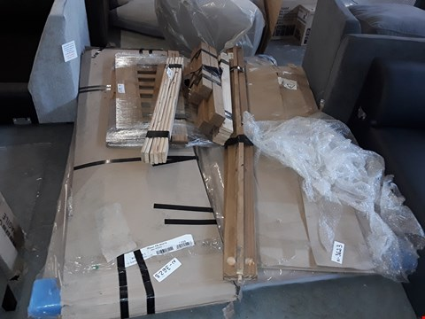 Lot 7116 PALLET OF ASSORTED FLAT PACK FURNITURE PARTS