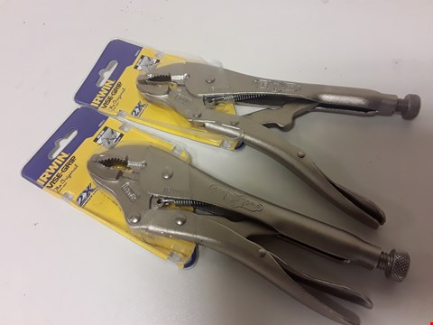 Lot 1790 TWO SETS OF IRWIN VICE-GRIPS