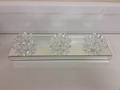 Lot 718 JULIEN MACDONALD CRYSTAL CANDLE HOLDER